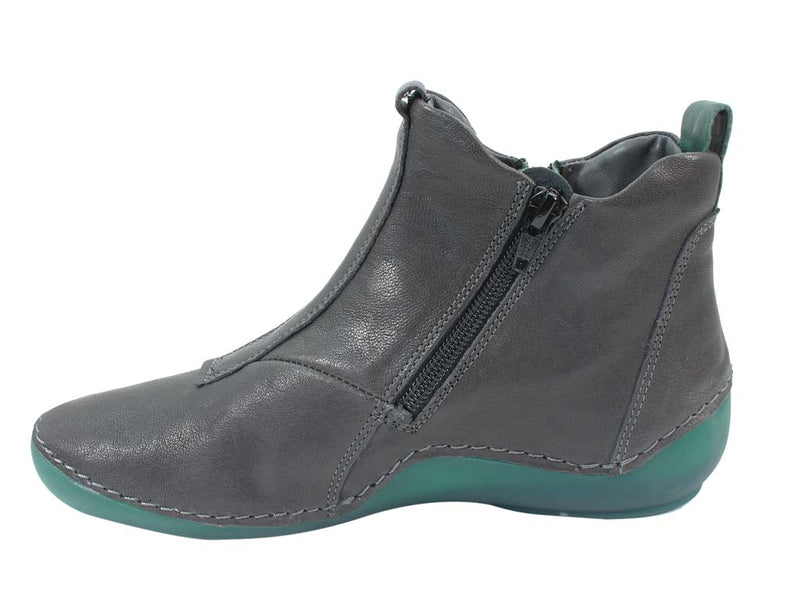 Think Boots Kapsl 85067-21 Vulcano Grey in side view