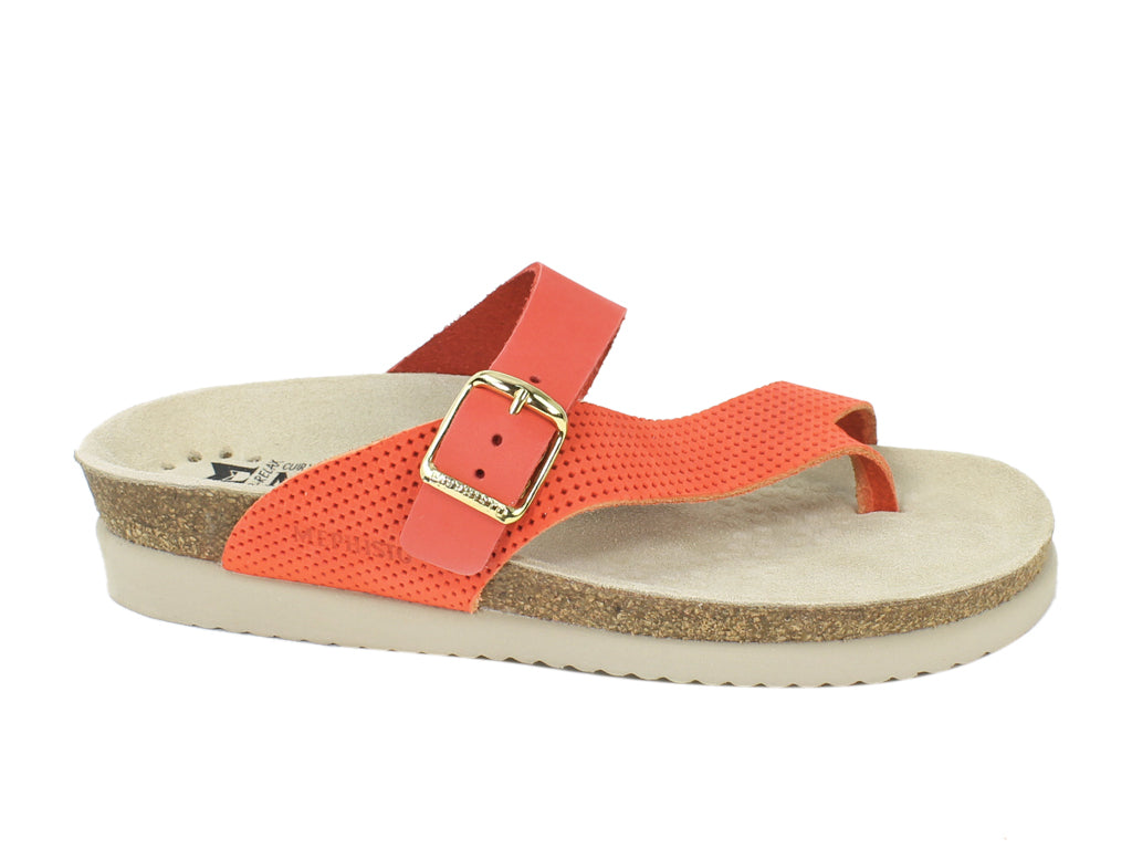 Mephisto Sandals Helen Coral side view