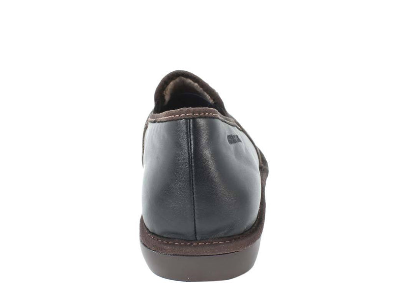 Nordikas Men Slippers Closed Black back view