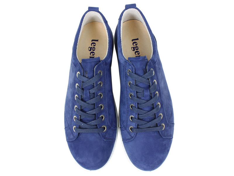 Legero Women Trainers Tanaro 823-82 True Blue upper view