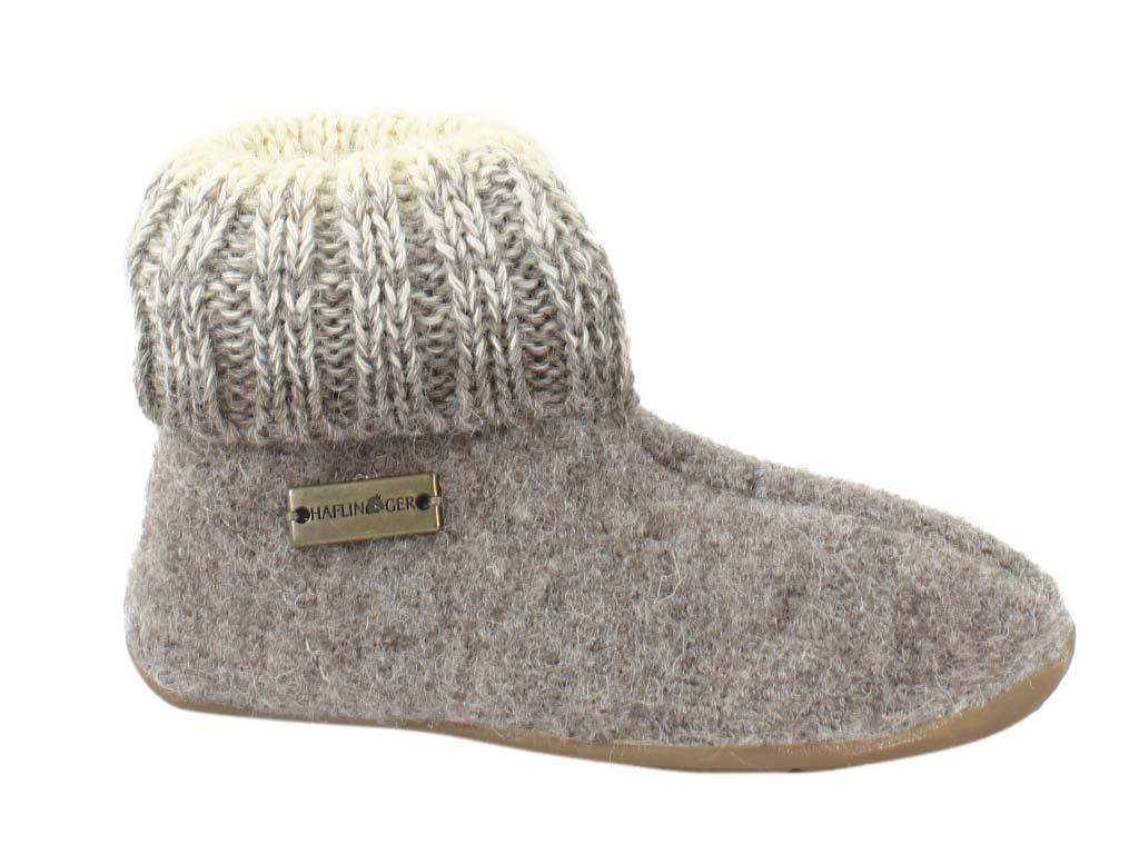 Haflinger Children's slippers Iris Beige side view