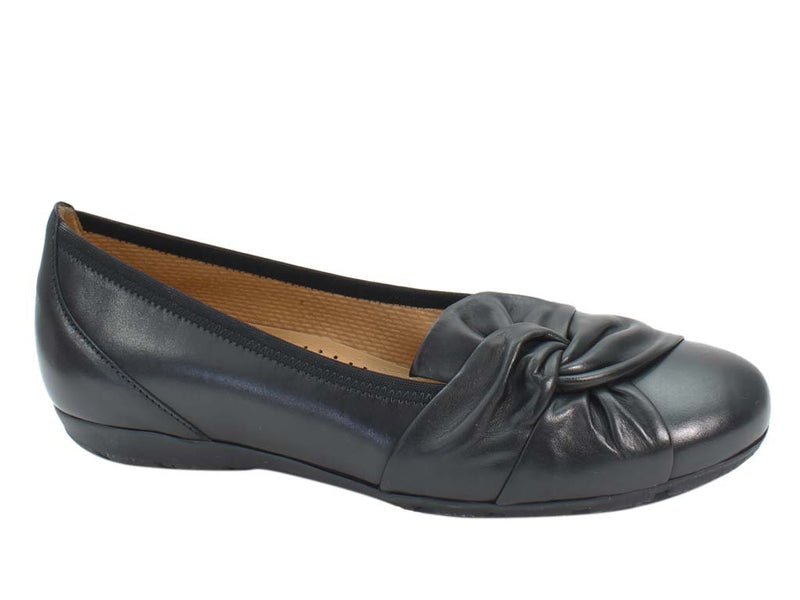 Gabor Ballerinas Claredon 34.167 Black side view