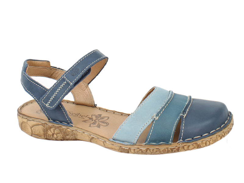 Josef Seibel Women Sandals Rosalie 44 Ocean side view