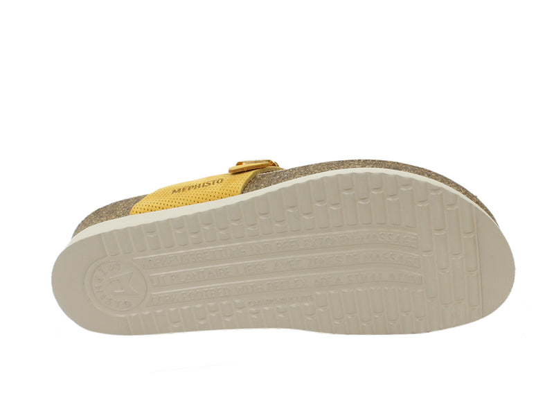 Mephisto Women Sandals Helen Mustard sole view