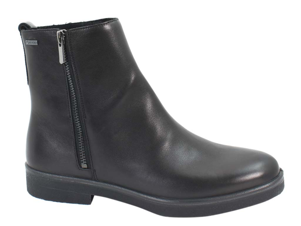 Legero Boots Soana 09687-01 Black Leather side view