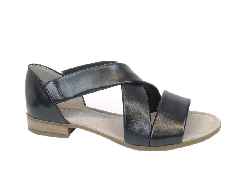 Gabor Sandals Sweetly 62.761 Black side view