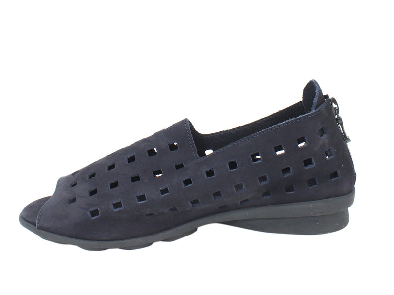 Arche Women Shoes Drick Nuit Navy side view
