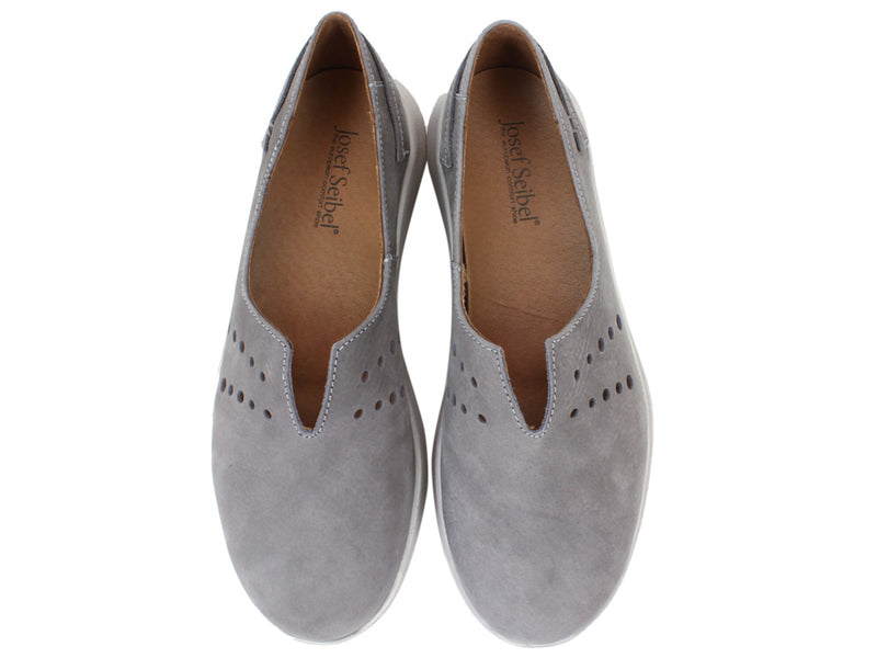 Josef Seibel Shoes Malena 13 Grey upper view