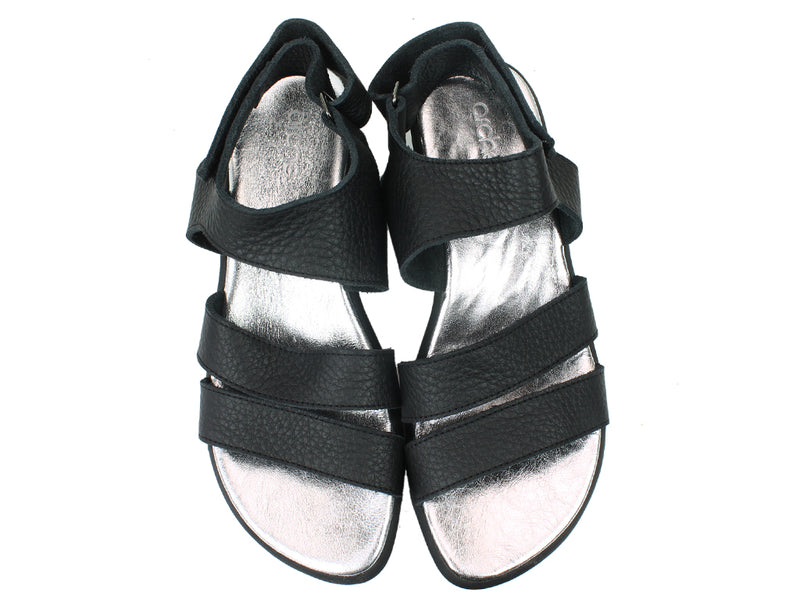 Arche Sandals Satana Black upper view