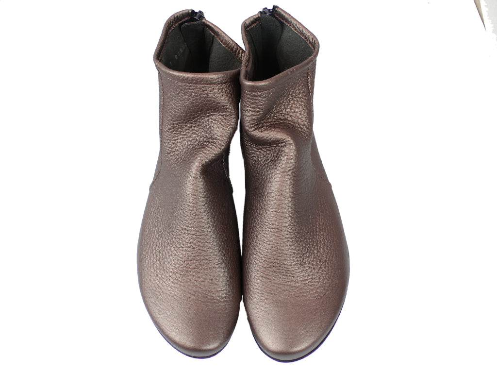 Arche Boots Baryky Bronze Leather upper view