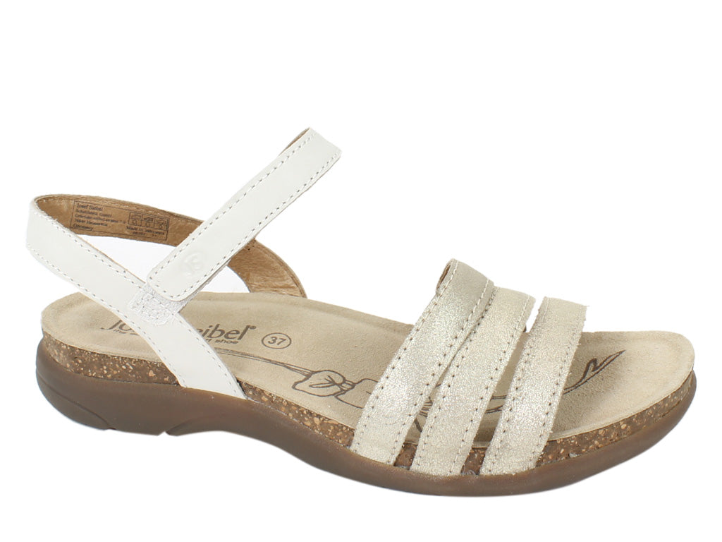 Josef Seibel Sandals Riley 01 Sand SIDE VIEW