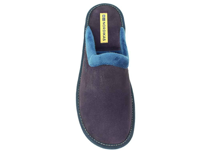 Nordikas Slippers Purple top view