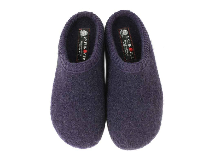 Haflinger Slippers Everest Classic Lavender upper view