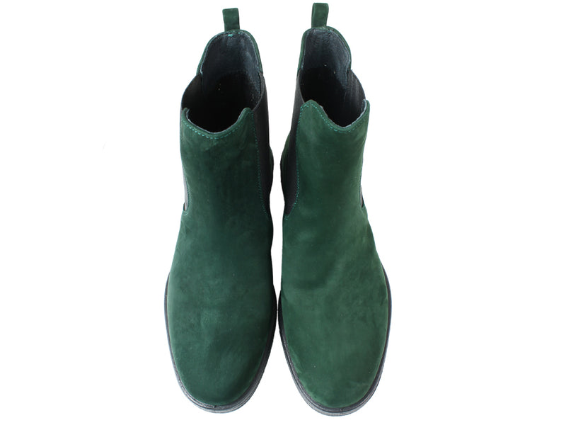 Legero Boots Soana 00866 Pine Green upper view