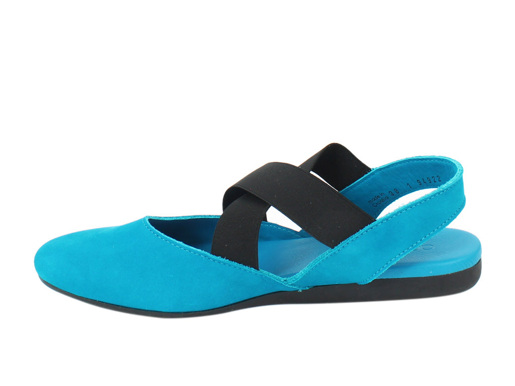 Arche Women Sandals Labana Nayati Blue side view