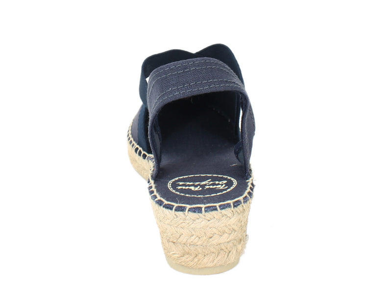 Toni Pons Sandals Verona Navy back view