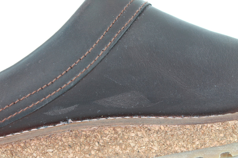 Haflinger Leather Clogs Travel Brown (Second Quality)