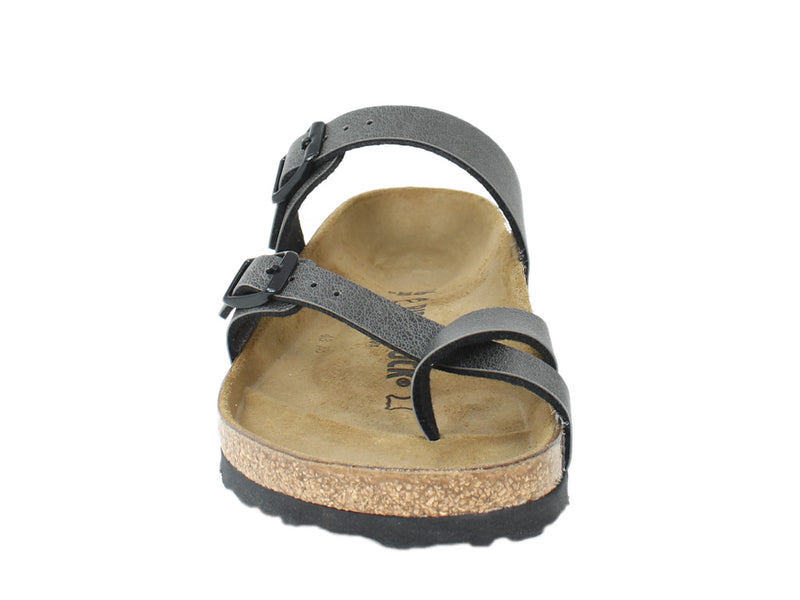 Birkenstock Sandals Mayari Anthracite front view