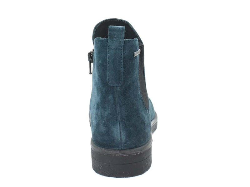 Legero Boots Soana 00684-79 Petrol back view