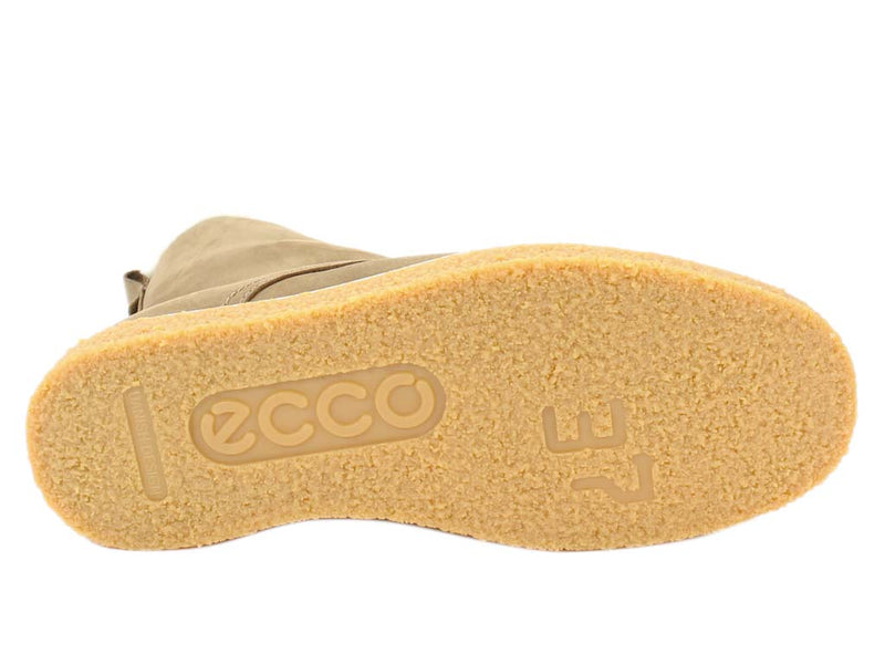 ECCO Boots Crepetray Camel sole view