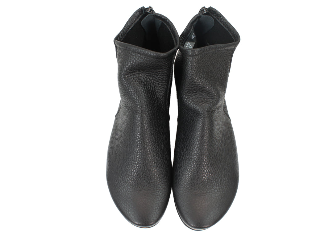 Arche Boots Baryky Black Leather upper view