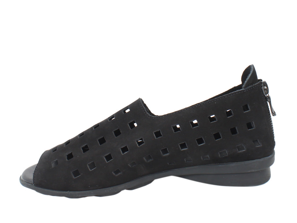 Arche Women Shoes Drick Noir Black side view