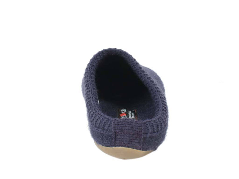 Haflinger Slippers Everest Classic Lavender back view