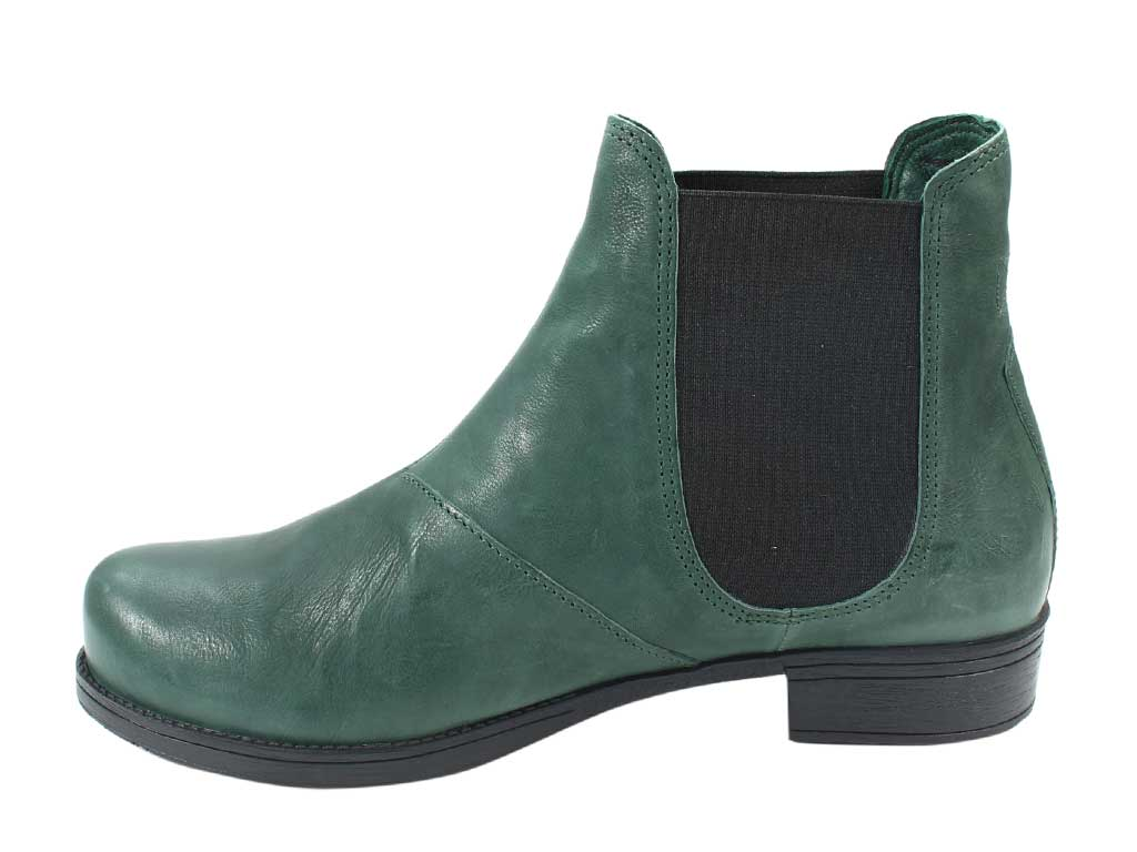 Think Boots Denk 85028-61 Bottle Green in side view