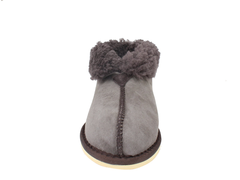 Celtic & Co Slippers Sheepskin Bootee Vole front view