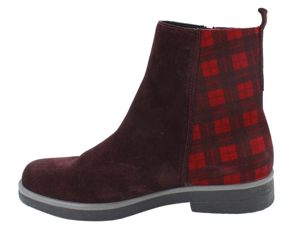 Legero Boots Soana 09687-59 Amarone Red side view