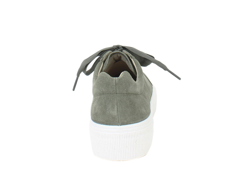Legero Trainers Lima 910-72 Olive back view