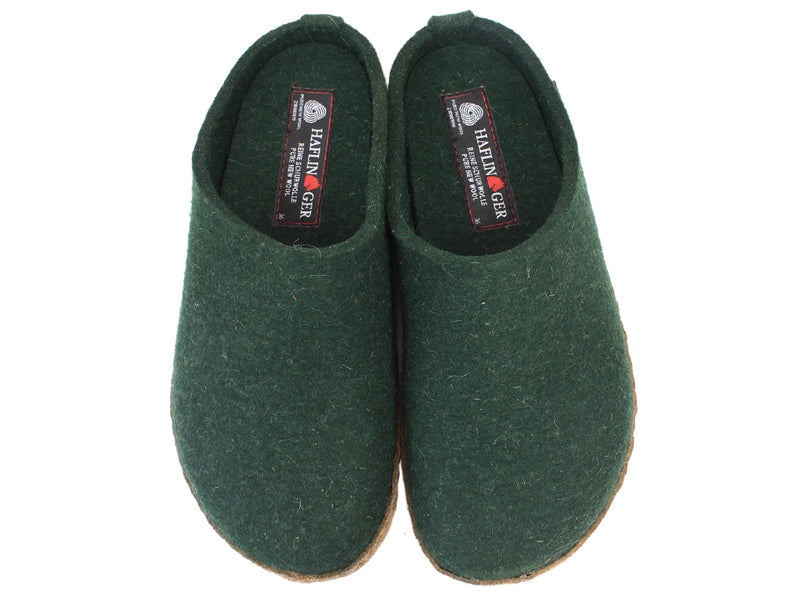 Haflinger Felt Slippers Emil Green upper view