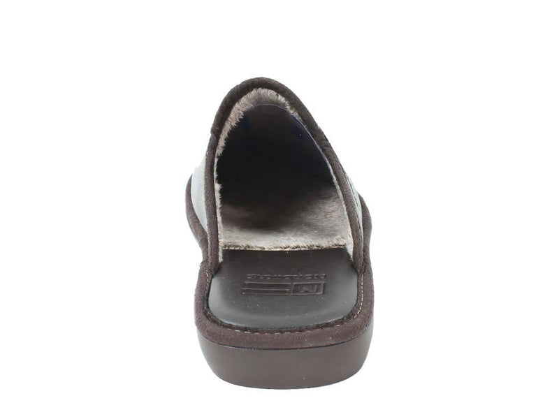 Nordikas Men Slippers Moka back view