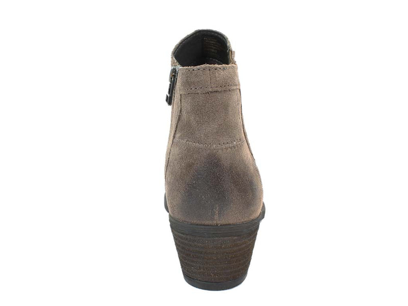 Josef Seibel Boots Daphne 09 Taupe back view