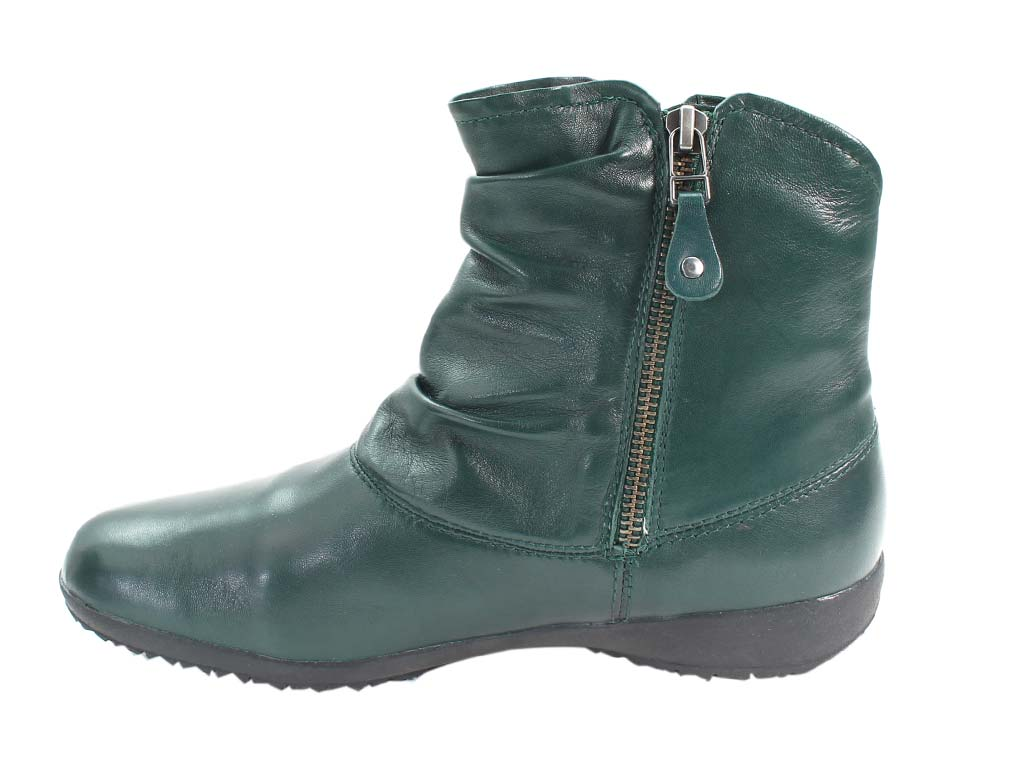 Josef Seibel Boots Naly 24 Petrol in side view