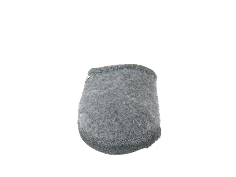 Haflinger Slippers Cashmere Anthracite front view