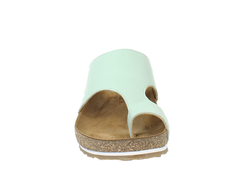 Haflinger Sandals Anka Mint front view
