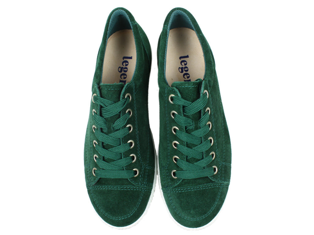 Legero Trainers Tanaro 820-731 Green upper view
