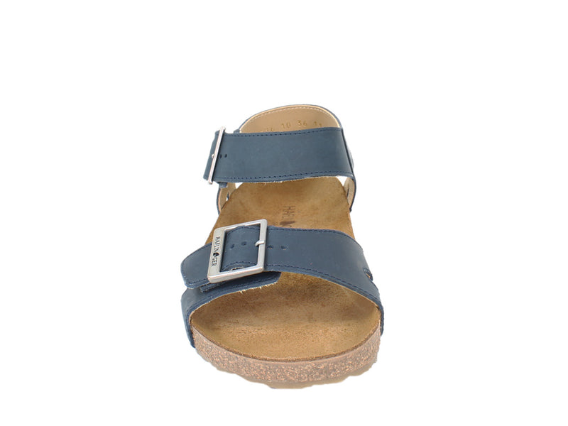 Haflinger Sandals Rebecca Navy front view
