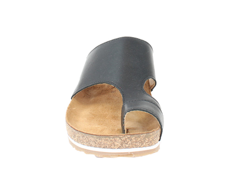 Haflinger Sandals Anka Black front view