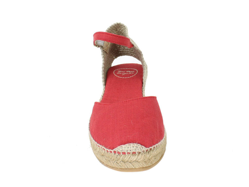 Toni Pons Sandals Romina Red front view