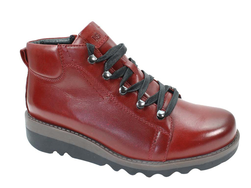 Josef Seibel Women Boots Lina 09 Hibiscus Red side view