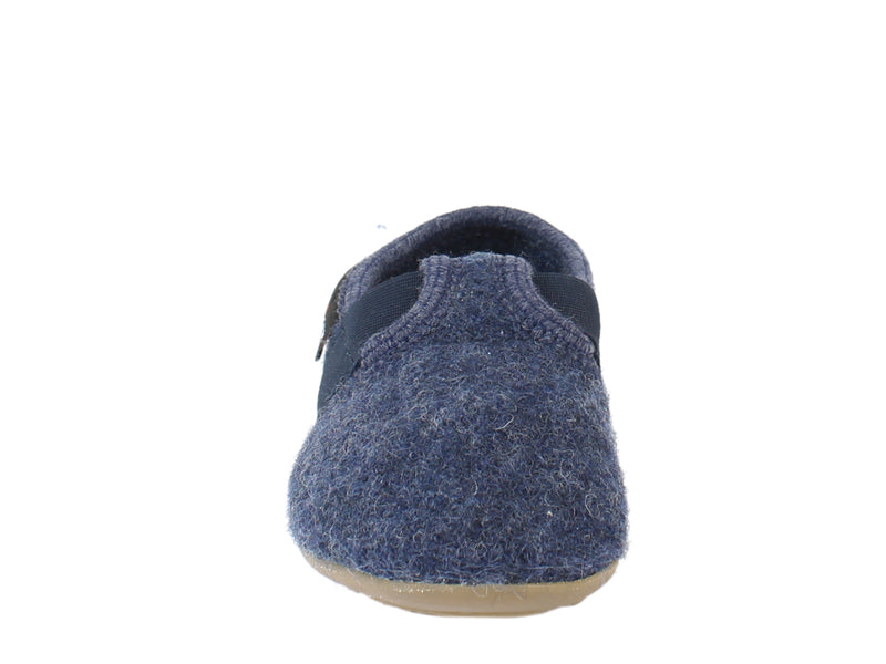 Haflinger Children's slippers Everest Jonas Jeans front view