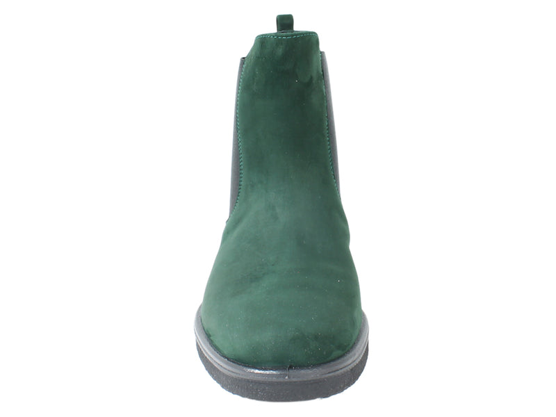 Legero Boots Soana 00866 Pine Green front view