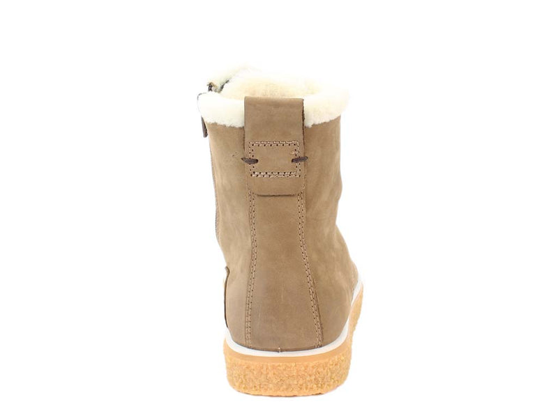 ECCO Boots Crepetray Camel back view