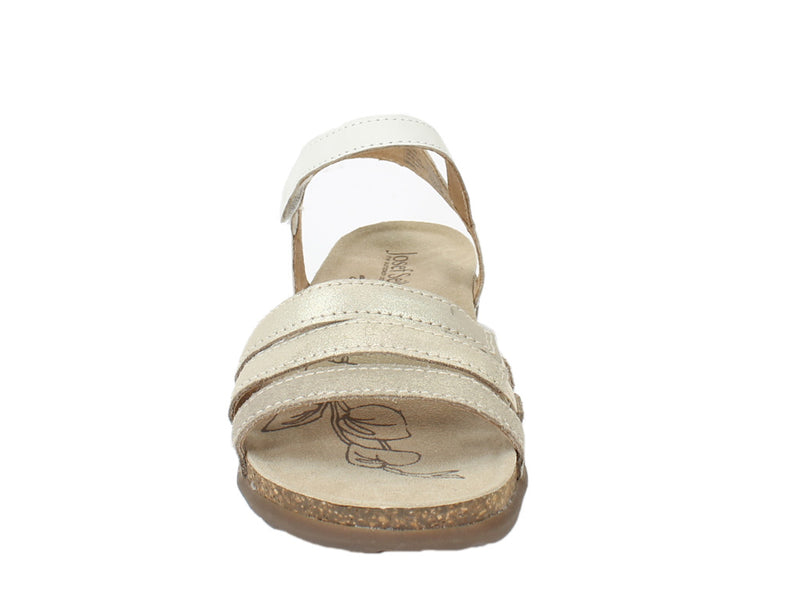 Josef Seibel Sandals Riley 01 Sand FRONT VIEW