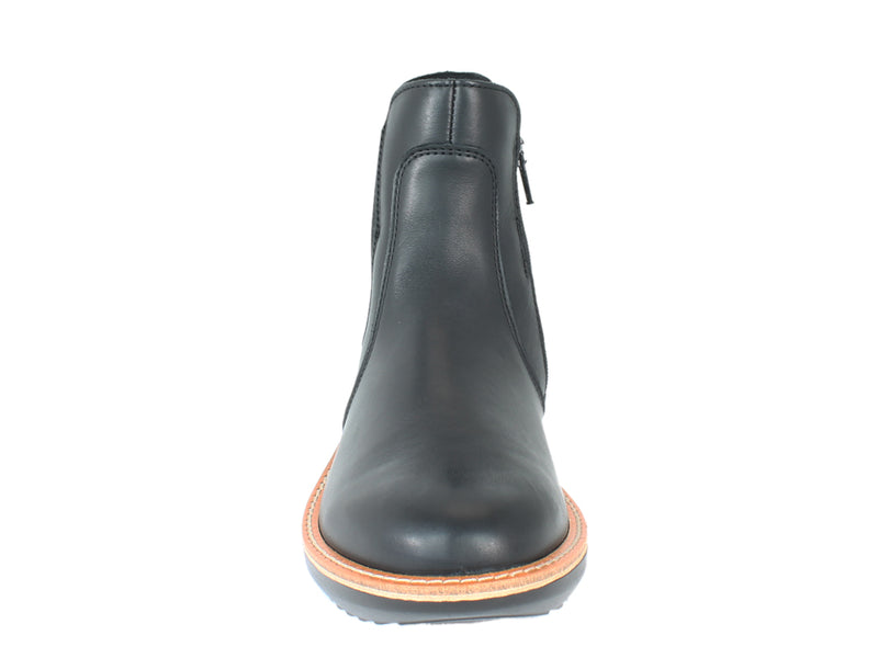 Legero Boots Harmony 000484 Black Leather front view