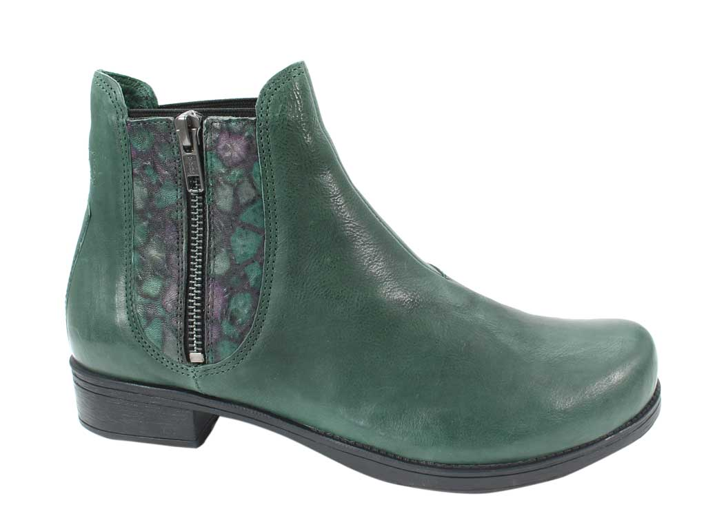 Think Boots Denk 85028-61 Bottle Green side view