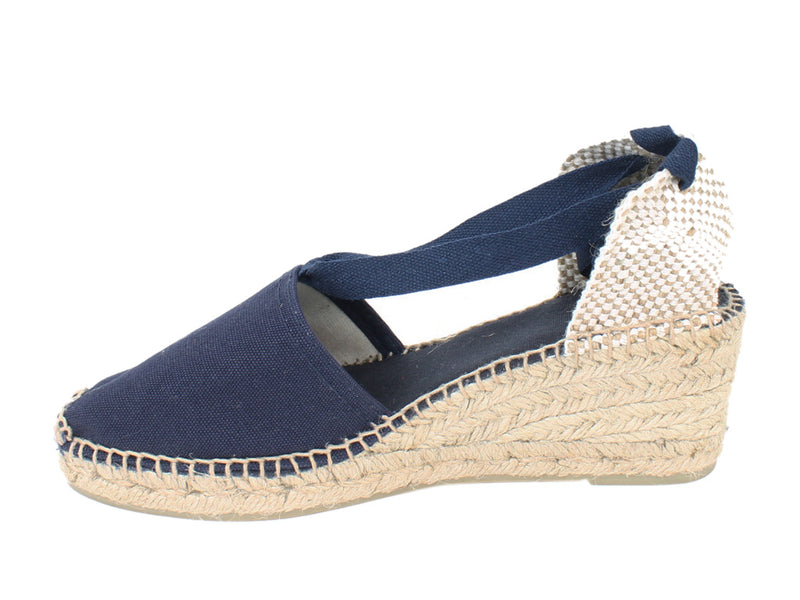 Toni Pons Sandals Valencia Navy side view