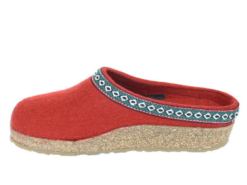 Haflinger Clogs Grizzly Franzl Rubin side view